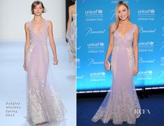 Katrina Bowden attended the 10th annual UNICEF Snowflake Ball held at Cipriani Wall Street on Tuesday (December 2) in New York City. The actress wore a hea