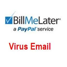 """Thank You for Scheduling a Payment to Bill Me Later - PayPal Virus Email: The email message below: """"Thank you for scheduling a payment to Bill Me Later,"""" which claims that the recipient made a payment online of $1958.80 (the amount may change), and it was applied his/her account, is a fake. This email message was not sent by PayPal BillMeLater, but by cybercriminals, whose intention is to trick the recipients into opening the malicious attachment, which will infect their computers with a..."""
