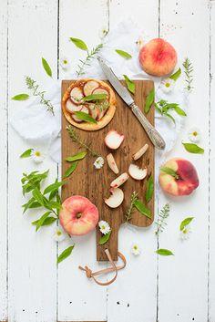 Peach tarts - Carnets parisiens