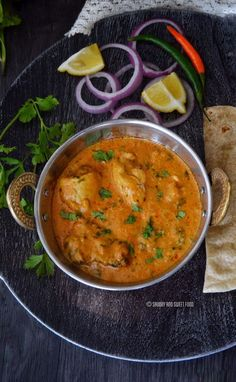 A creamy, spiced Chicken Korma, consisting of chicken braised with yoghurt and spices to give a thick gravy full of flavors.     This is my first entry to the Muslim Food Bloggers Challen…