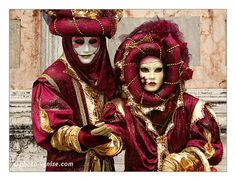 Venice Carnival, Italy - More pictures on http://www.photo-venise.com