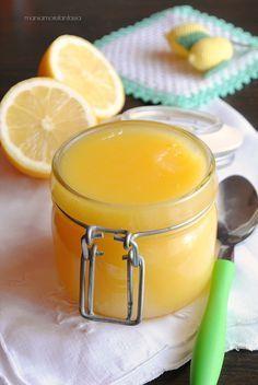lemon curd, crema al limone