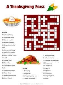 Thanksgiving 12 Puzzle Bundle - PRINTABLE PDF. Puzzles For KidsCrossword ...