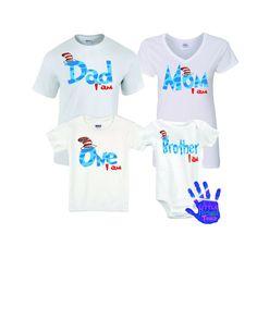 Dr. Seuss Birthday Shirt, Family Dr. Seuss Birthday Shirts