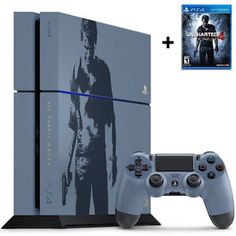 Buy PlayStation 4 500GB Console  Uncharted 4 Limited Edition Bundle