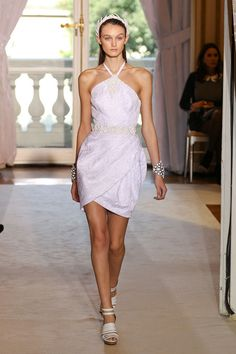 WrappedTulip Skirt DressTrend 4 Spring Summer 2012  Andrew Gn Spring - Summer 2012 Fashion