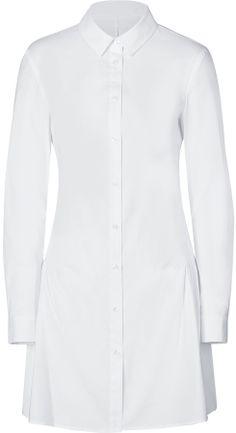 Steffen Schraut Cotton Blend Joanna Shirtdress on shopstyle.com