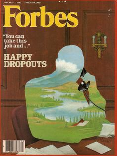 I am on the cover of Forbes.