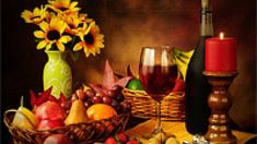 Best Seller Fresh Look Color Wall Art Painting Red Wine Goblet Nuts Strawberry Corkscrew Yellow Flowers Pictures Prints On Canvas Food The Picture Decor Oil Home Modern Decoration Print online - Thepopbeautiful Artwork For Home, Modern Artwork, Fruit Painting, Diy Painting, Interior Painting, Wine Wall Art, Still Life Fruit, Bright Paintings, Cross Paintings