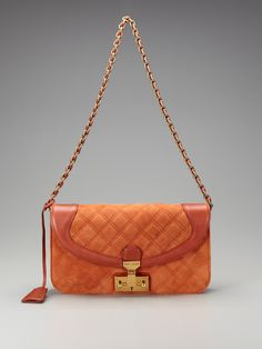 Suede Quilting Luisa Shoulder Bag by marc jacobs collection handbags brought to you by Gilt