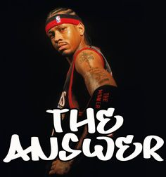 allen iverson the answer