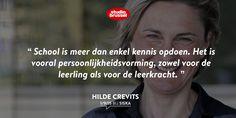 Minister van Onderwijs @crevits voelt kriebels in de buik voor de eerste schooldag.