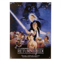 Star Wars - Die Rückkehr der Jedi-Ritter Blechschild