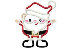 Happy Santa - Hang to Dry Applique