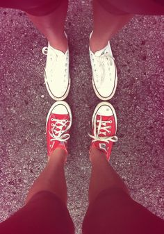 converse and tans