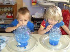 Class Activities, Toddler Activities, Diy Crafts Games, After School, School Projects, Musical, Experiment, Preschool, Bubbles