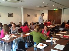 Introductions at our 1st day of Business English Academy for adults. 2 weeks of classes to go.