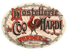 hostellerie du coo hardi verdun france rooster