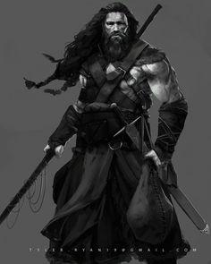 ArtStation - Viking Hunter , Tyler Ryan