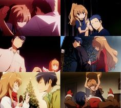 Toradora! - Aisaka Taiga & Ryuuji Takasu #AnimeCouple