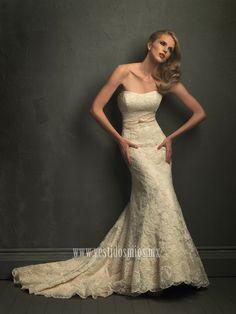 un vestido de novia palabla de honor