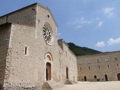 the Abbey of Valvisciolo, near Sermoneta