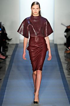 Peter Som Fall/Winter 2012 collection.