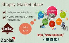 Shopsy is a platform that allows you to carry your own products and produces a dynamic community. Here, clients can become sellers, electing to post their own products up for sale. For more info : https://www.zoplay.com/web/buy-sell-market-place-website/