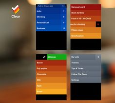 Clear app. The best To Do app out there IMO.
