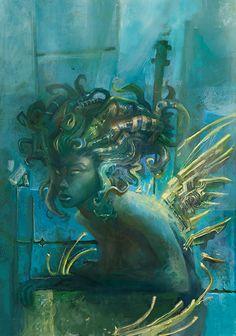 """""""medusa cover"""" by CrankBot on deviantART (http://crankbot.deviantart.com/)"""