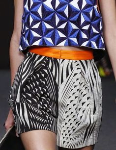 patternprints journal: PRINTS, PATTERNS AND SURFACE EFFECTS: BEAUTIFUL DETAILS FROM MILAN FASHION WEEK (WOMAN COLLECTIONS SPRING/SUMMER 2015) / Byblos