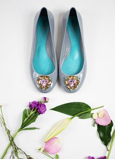 Bella ballet flats in mist, sure to put a pep in your step! ...