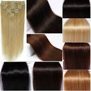 Curly Human Indian hair extensions