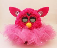 Tutu Skirt outfit clothes For Furby Furby Boom Furby crystal 90s kawaii by ThisVintagePrincess