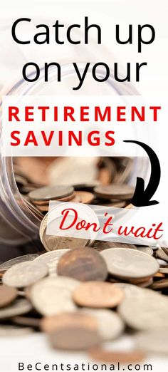 Fast Way to catch Up on Retirement Savings! Fast Way to catch Up on Retirement Savings! Retirement Financial Planning, Retirement Savings Plan, Retirement Strategies, Preparing For Retirement, Retirement Advice, Investing For Retirement, Retirement Accounts, Investing Money, Ways To Save Money