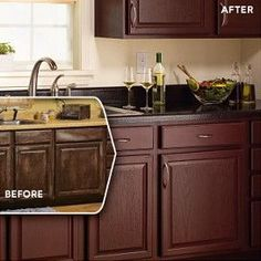 Rust-Oleum Cabinet Transformations Before and After | Rust-Oleum Cabinet Transformations