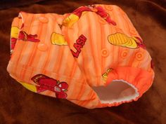 SassyCloth one size pocket diaper with The Flash by SassyCloth