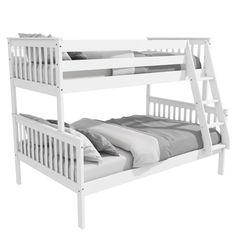 Image result for bunk bed white