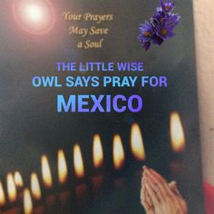 Please pray for people caught up in the eye of the storm of hurricanes and for earthquake victims in Mexico,God bless you