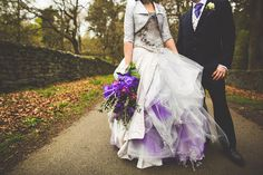 Love the purple netting