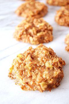 Vegan Banana Coconut Cookies