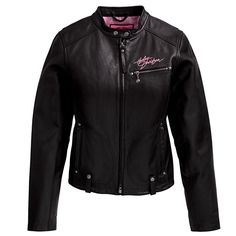 Harley-Davidson Women's Pink Label Leather