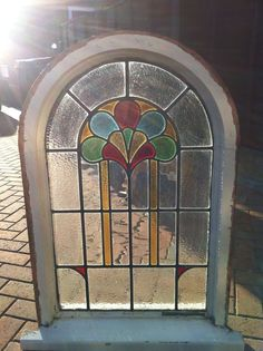 Stunning stained glass window