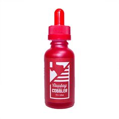 Liquid State Vapors Cowboy Cobbler - A traditional lone star dessert, fresh blueberry pomegranate cobbler with sweet cinnamon and buttery graham cracker crust. Not for your average cowboy.80% VG