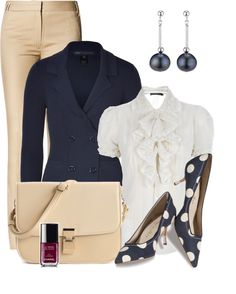 """""""Classic Feminine Work Wear"""" by pippimommy on Polyvore"""