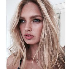 Romee while working with @VictoriasSecret