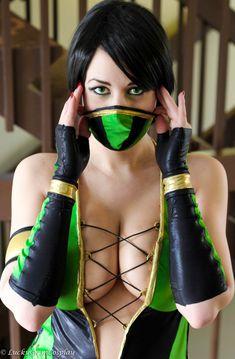 Jade (Mortal Kombat) #cosplays