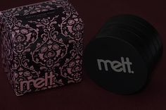 """9,323 Likes, 145 Comments - Melt Cosmetics (@meltcosmetics) on Instagram: """"Our NEW She's in Parties stack packaging makes our little black plum hearts oh so happy 🖤🦇💜 .…"""""""