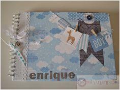 Mil y un enredos: Mi primer año: Enrique #bebé #álbum