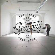 Lettering Set (Collaboration Series 3) by Noel Shiveley, via Behance